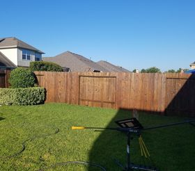 Staining in Katy, TX (2)