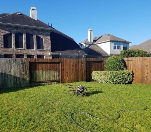 Staining in Katy, TX (3)